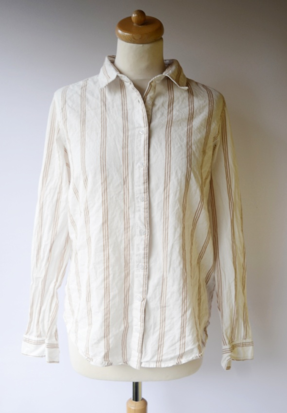 Koszula Bik Bok S 36 Paski Paseczki Elegancka Wizytowa