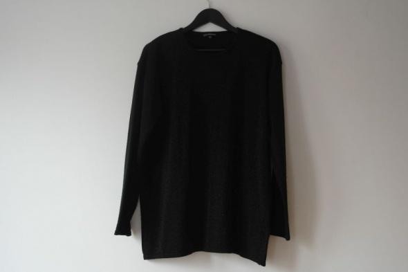 czarny błyszczący sweterek r 40 42