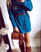 Sukienka Damska jeansowa M L...