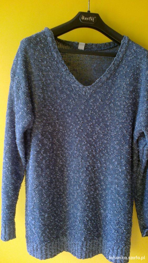 Swetry Niebieski sweter