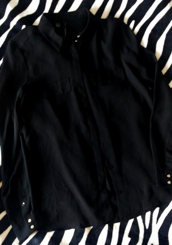 Koszula czarna mgiełka XS
