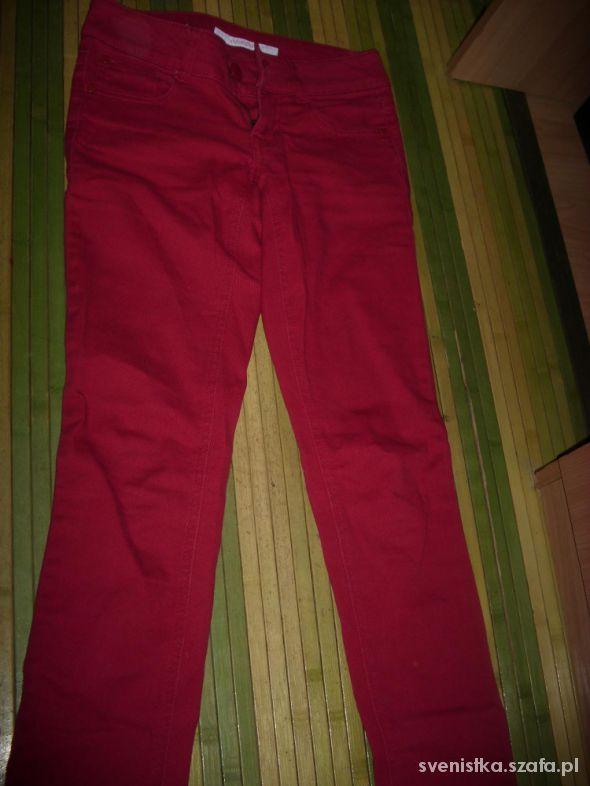 Spodnie Czerwone spodnie XS