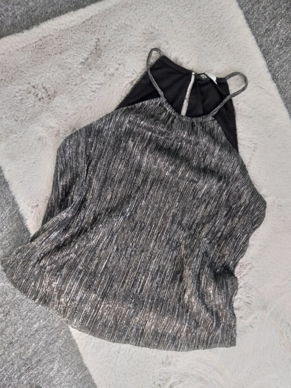 Bluzka błyszcząca H&M S...
