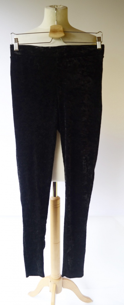 Legginsy Legginsy Czarne Cubus L 40 Welurowe Welur Spodnie