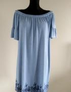 Sukienka w cienkie paski 44 46...