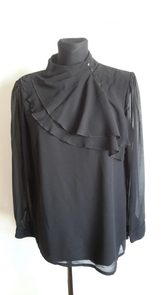 Modna czarna bluzka 44...