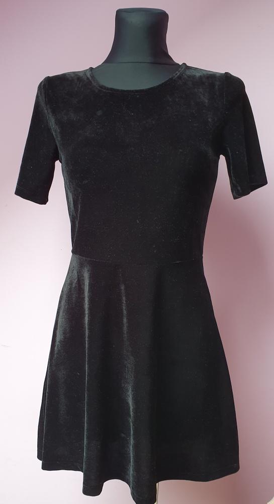 Czarna sukienka Rainbow 32 34...