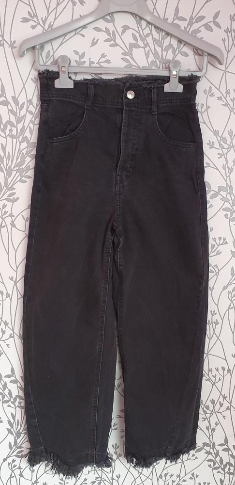 Spodnie Szerokie Dżinsy Zara S