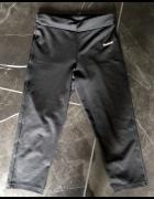 REEBOK spodnie dresowe sportowe czarne 3 4 rozm XS 34 stan BDB...