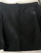 ZARA spódnica spódniczka czarna sztuczna skóra rozm S M 36 38 s...