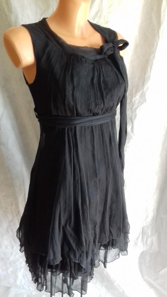 Włoska elegancka sukienka