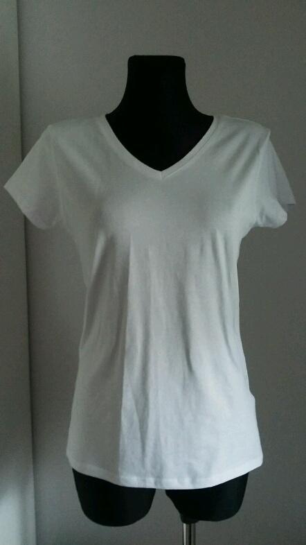 Nowa biała bluzka Amisu SMLXL serek