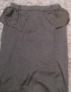 Elegancka spódnica z baskinką rozm 12 L cena z WYSYŁKĄ