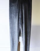 Legginsy Niebieskie Welurowe Welur Zara S 36 Spodnie...