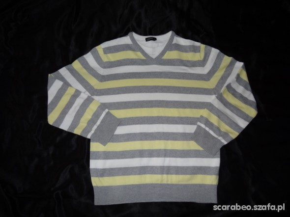 Swetry sweter w paski pastelowe kolory rozmiar M
