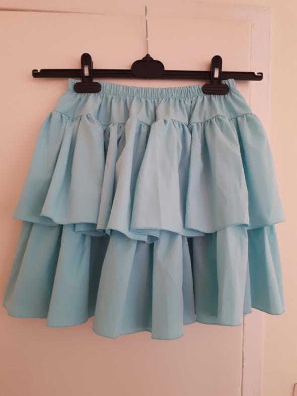 Spódnice Błękitna spódniczka marki Pakuten