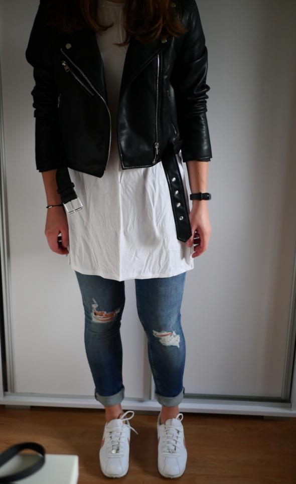 T shirt H&M koszulka z krótkim rękawem podkoszulek tunika