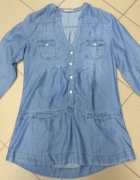 Bluzka koszula jeansowa Fascinate XL...