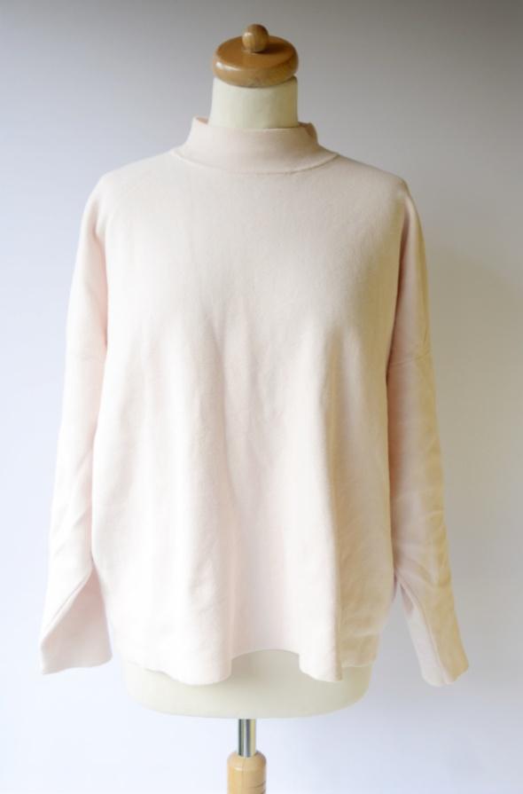 Golf Sweter H&M Basic Pudrowy Róż XL 42 Oversize Różowy...
