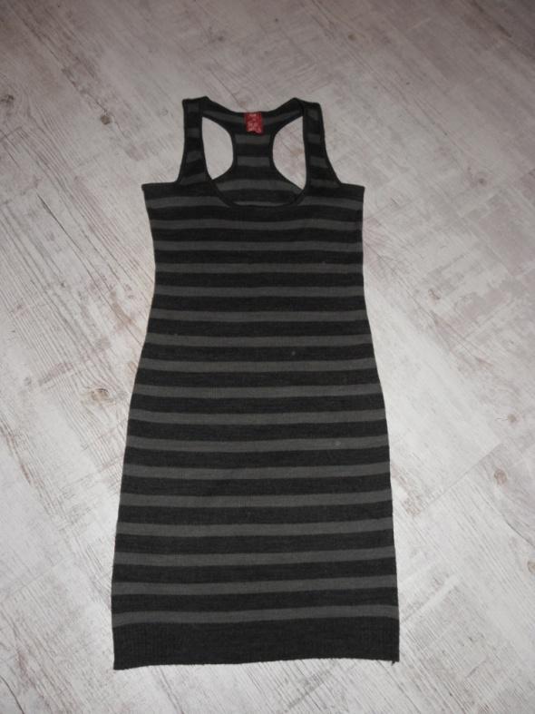 Suknie i sukienki Paskowana sukienka