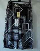 Parisian Luźne wzorzyste spodnie 42 XL