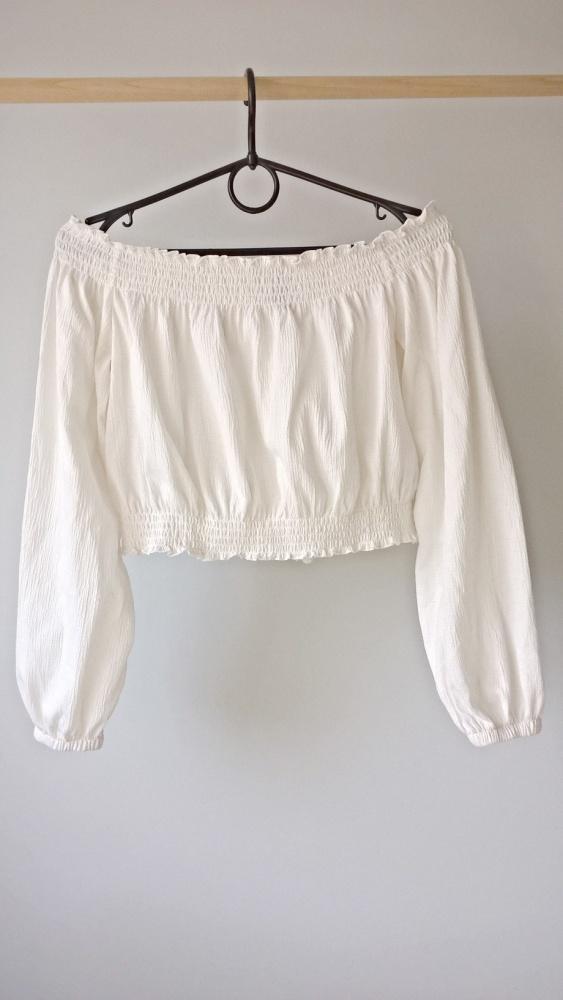 Biała bluzeczka hiszpanka s m l...