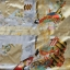 Satynowy chiński szlafrok