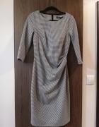 Sukienka w kratę rozm S...