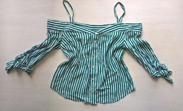 Bluzeczka w paski Bershka XS S...