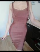 Piekna bandazowa sukienka...