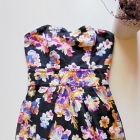 wielobarwna sukienka w kwiaty floral 36