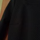 pikowana sukienka granatowa nowa z metką xs