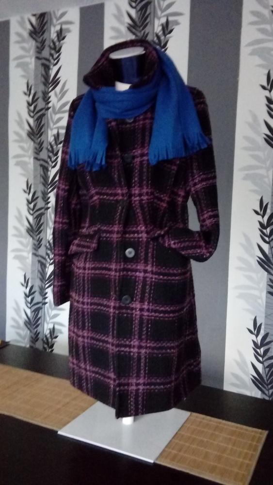 Piękny płaszcz przejściowy...