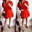 Sukienka Damska rozkloszowana czerwona M