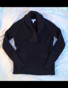 Fajny ciepły sweterek z wełną...