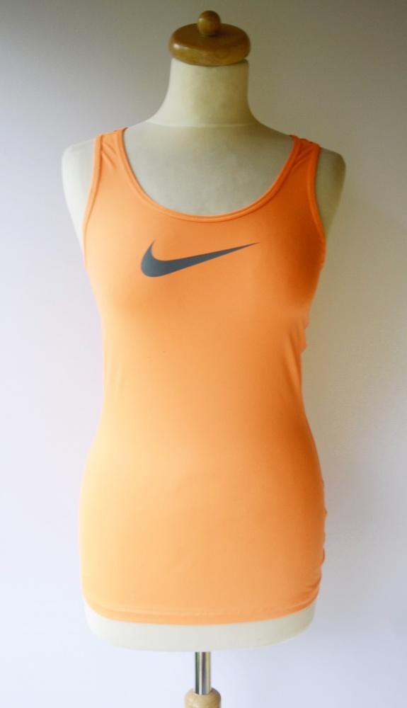 Bluzka Koszula Nike Pro S 36 Pomarańczowa Sportowa...