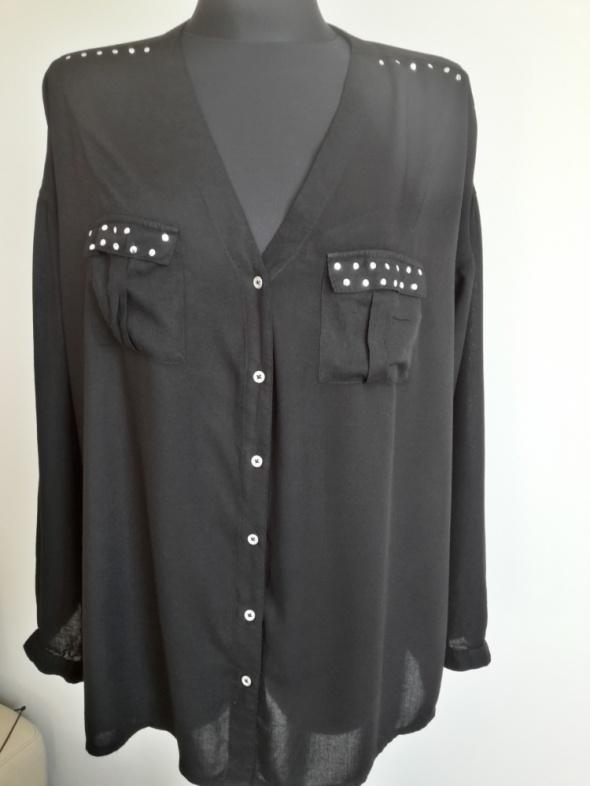 Czarna koszula AJC 36 38