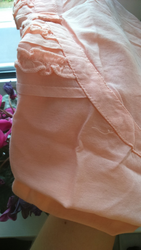 Śliczna łososiowa koszulka z Cubusa duża 44