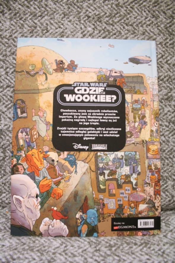 Książka Star Wars Gdzie jest Wookiee super PREZENT mikołajki choinka