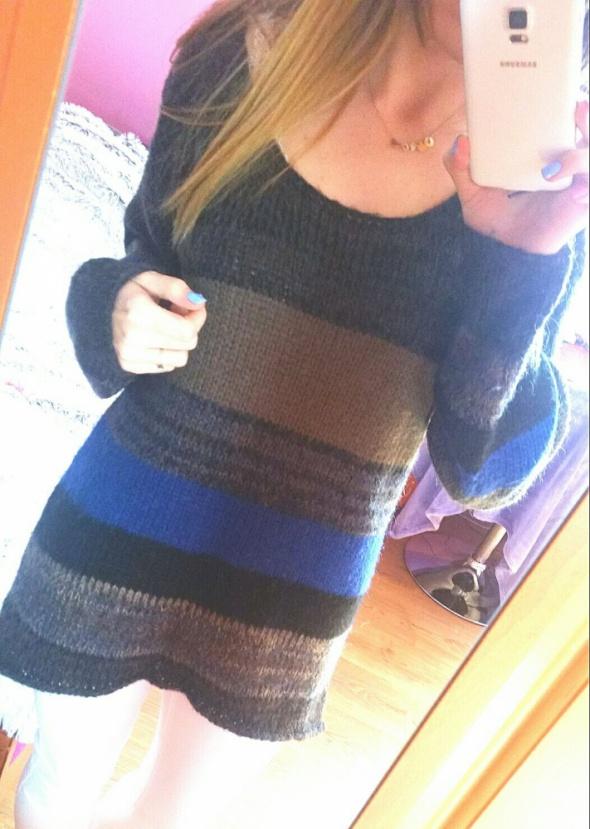 dłuższy sweter topshop...