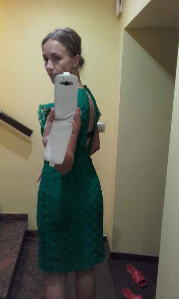 Sukienka koronkowa Zara...