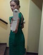 Sukienka koronkowa Zara