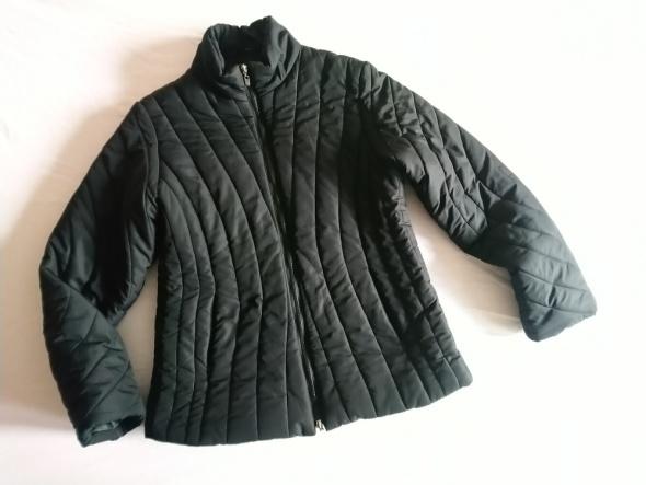 Pikowana czarna kurtka 40 Street One...