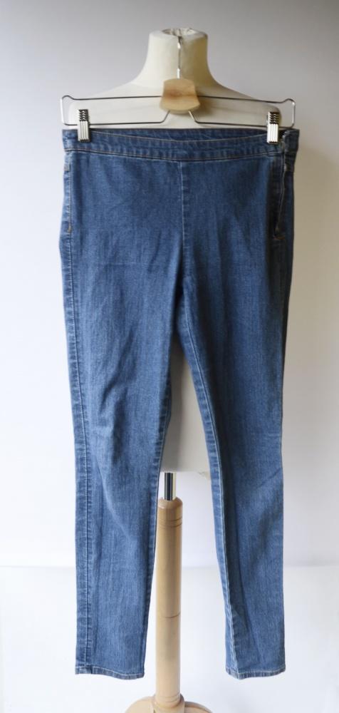 Spodnie Tregginsy Dzinsowe Spodnie H&M Jeansowe Rurki S 36