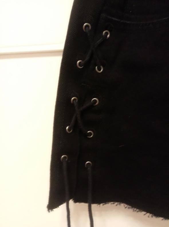 Spódniczka jeansowa mini wiązana Pull&Bear nowa...
