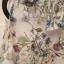 Koszula w kwiaty z wycięciami na ramionach Orsay