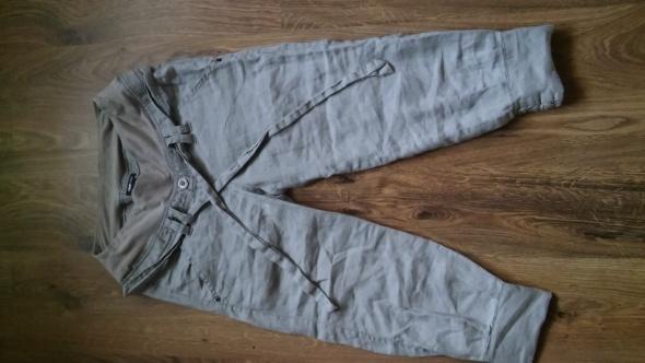 Spodnie ciążowe lniana