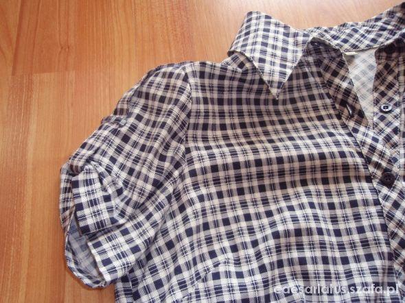 koszula w kratkę duże M