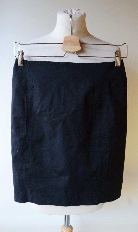 Spódniczka Czarna Mango Basic S 36 Ołówkowa Pracy Elegancka