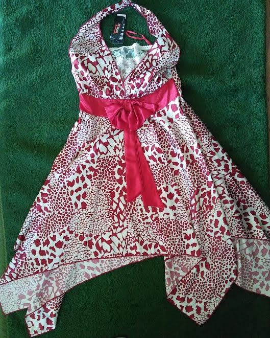 Suknie i sukienki asymetryczna sukienka zwiewna lekka